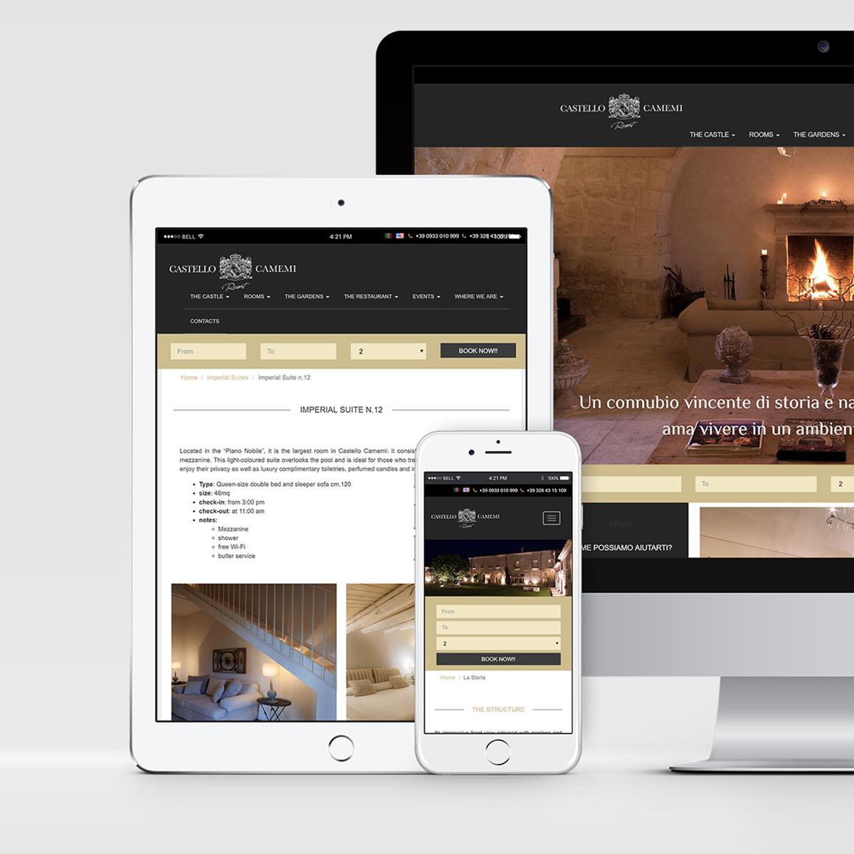 web site – Castello Camemi