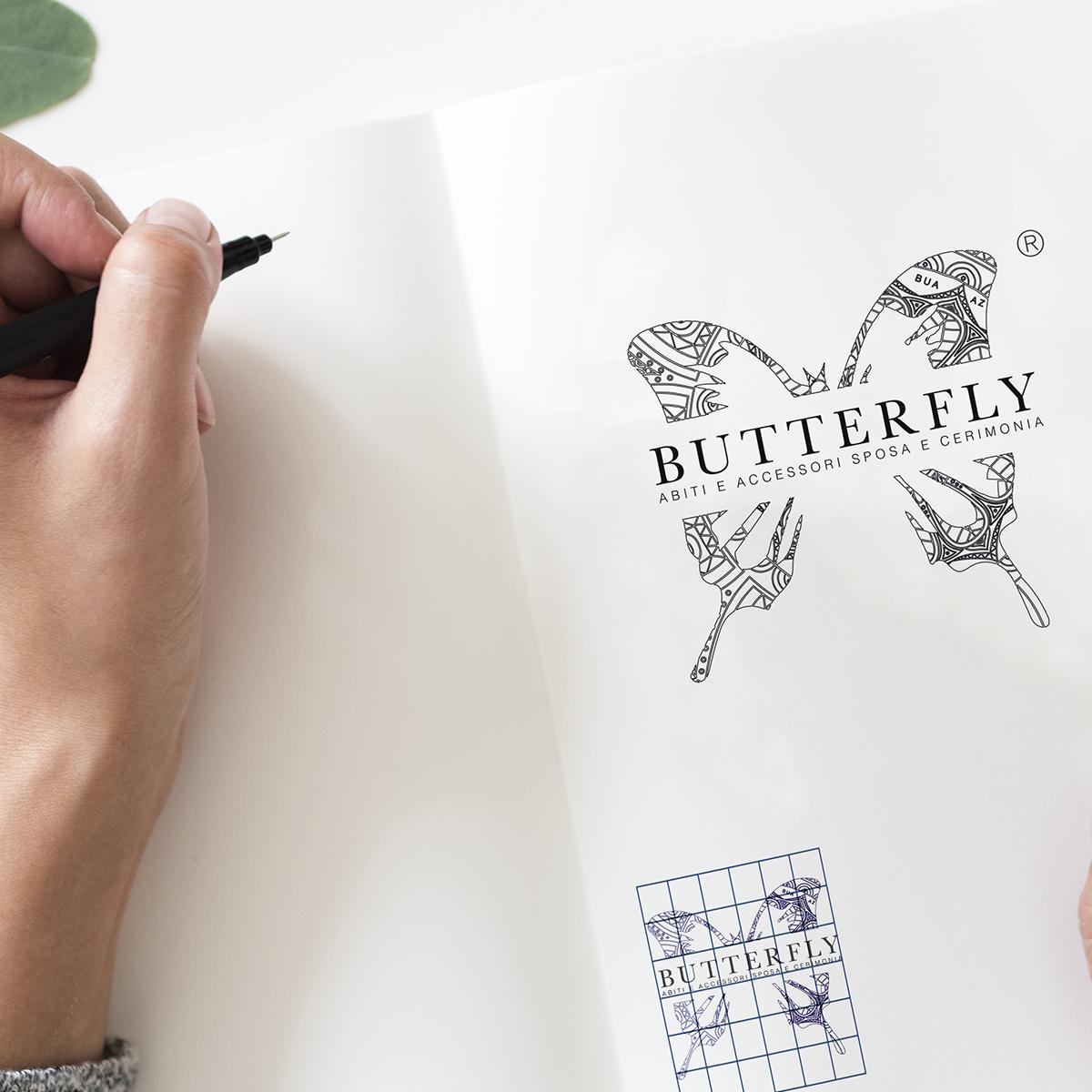 Logo – Butterfly