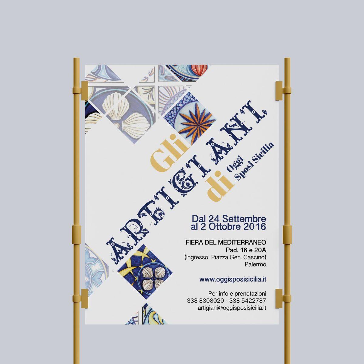 Poster 100×140 – Gli artigiani di Oggi Sposi Sicilia